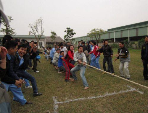 Hình ảnh hoạt động thể thao của Công ty NSN vào cuối năm 2011