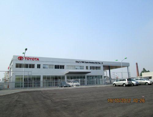 Showroom Toyota Vĩnh Phúc – HT