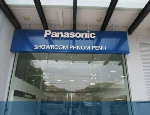 Showroom và trung tâm dịch vụ Panasonic Campuchia