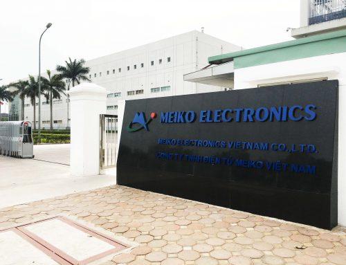 Cải tạo nhà máy điện tử Meiko Electronics Việt Nam
