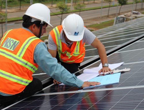 Viện Ứng dụng Công nghệ hoàn thành công trình điện áp mái tại Khu Công nghệ cao Hòa Lạc