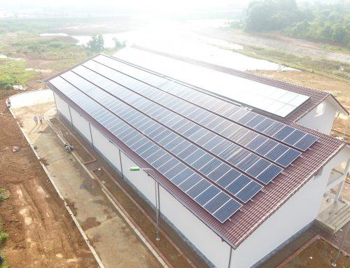 Dự án Điện năng lượng mặt trời áp mái Viện Ứng dụng Công nghệ Nancetech