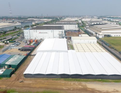 Asahi Intecc Hà Nội – Dự án Nâng cấp khu phụ trợ nhà máy