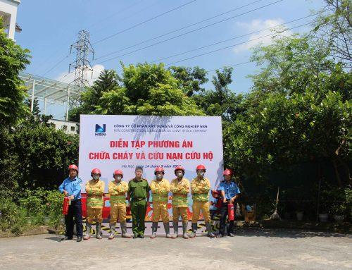 Diễn tập PCCC và cứu nạn, cứu hộ tại trụ sở NSN