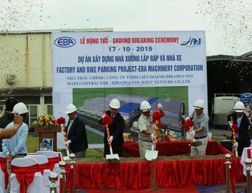 Lễ động thổ xây dựng nhà xưởng lắp ráp và nhà xe EBA