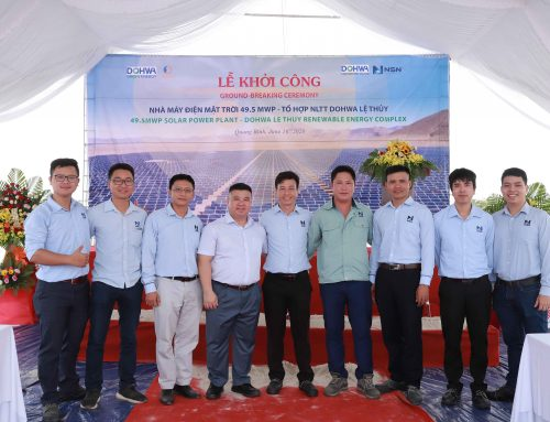 Commencement of the 49.5 MWp Solar Power Plant – Dohwa Le Thuy Renewable Energy Complex