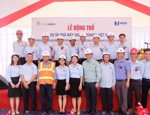 Lễ động thổ: Dự án lớn nhất trong lĩnh vực Tổng thầu công nghiệp của NSN năm 2020