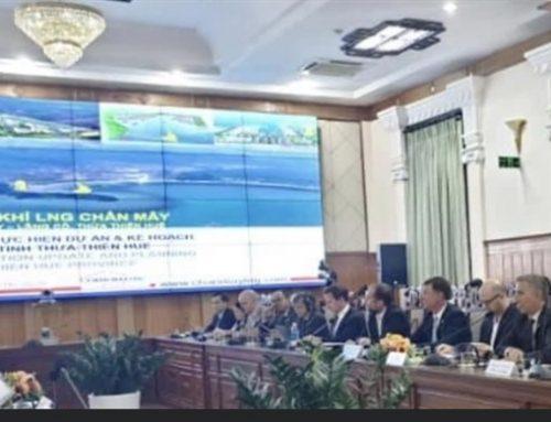 Huế thu hút dự án Điện khí LNG Chân Mây 5 tỉ USD