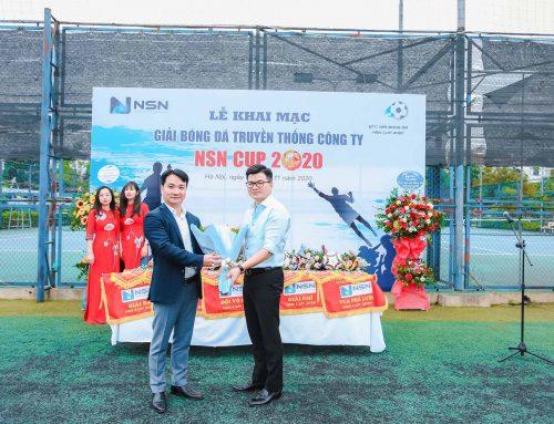 Khai mạc Giải bóng đá NSN CUP 2020