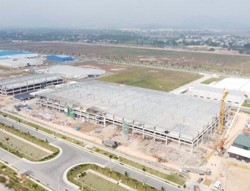 バリュートロニクスベトナム工場プロジェクトの上棟式