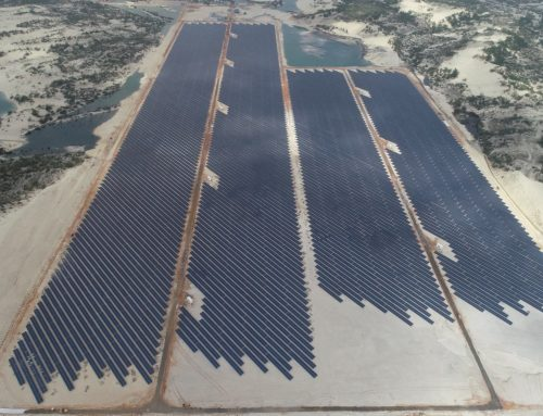 NSN successfully energized the 49.5 MWp solar power project of the Dohwa Le Thuy – Quang Binh renewable energy project complex.